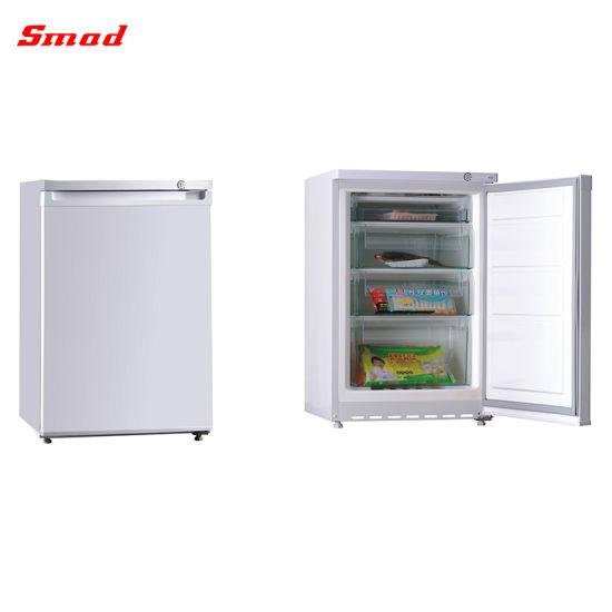China Hight Quality Mini Upright Display Ice Cream Showcase Freezer Supplier