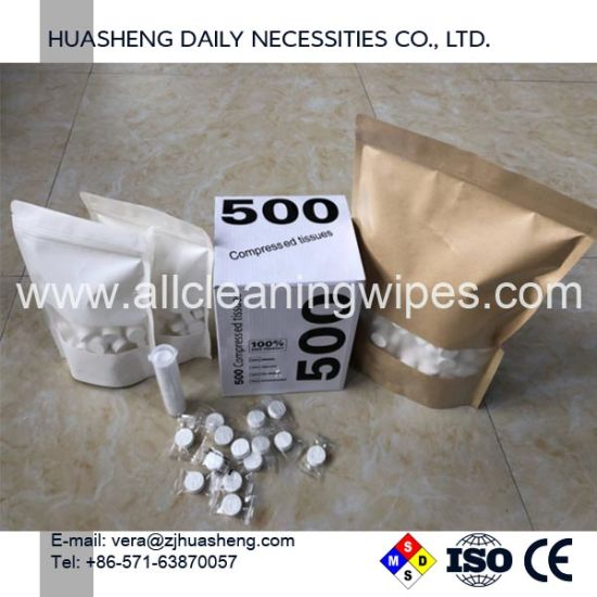 China Premium Coin Tissue Toilet Paper Tablets Compressed Towels ...