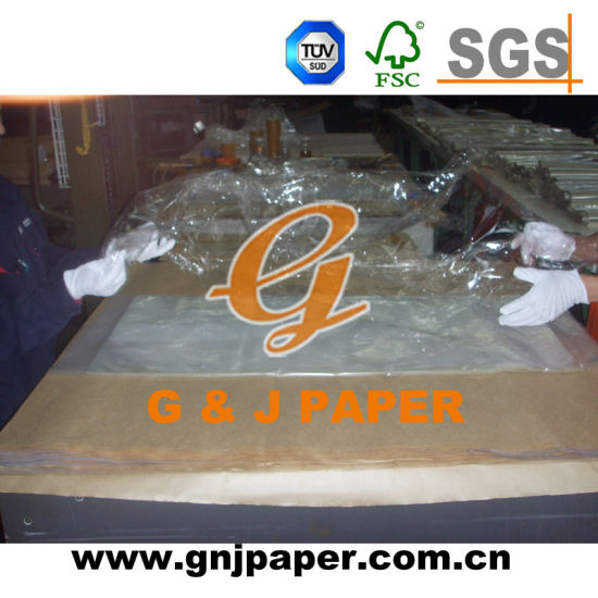 20-30GSM Orange Color Wrap Paper for Gift Packing pictures & photos