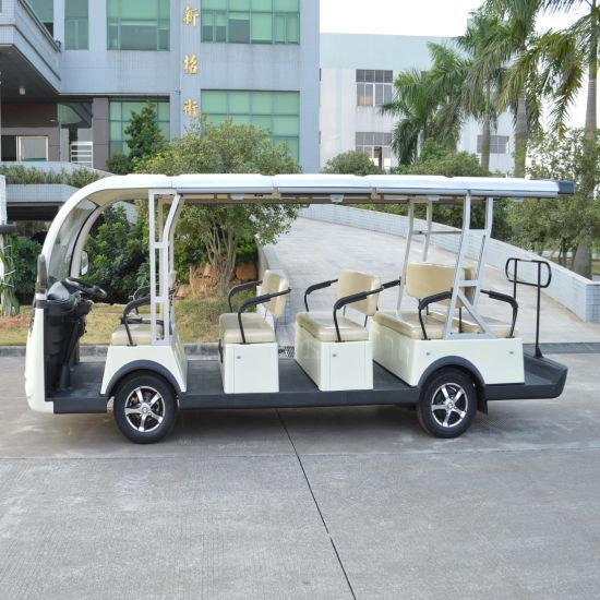 14 Seater Electric Vehicle Sightseeing Bus pictures & photos