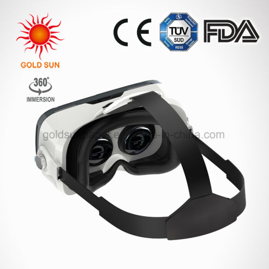 Vr Viewer Virtual Reality Mask Suitable for The Short Sighted & Hyperopia  and Kids with Adjustable Strap Movie Games 3D Vr Headset Glasses for Ios &
