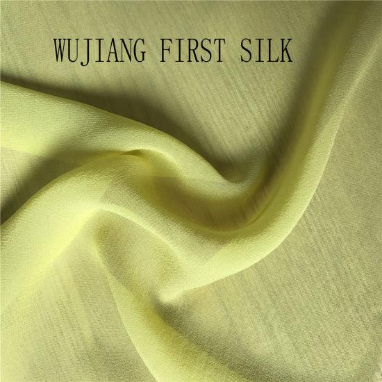 China Stock Of Silk Crinkle Chiffon Silk Chiffon Ready Colors Silk