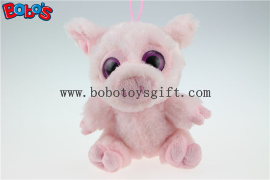 En71 Approved Promotion Toy Big Eyes Plush Purple Hippo Animal Toys Bos1170 pictures & photos