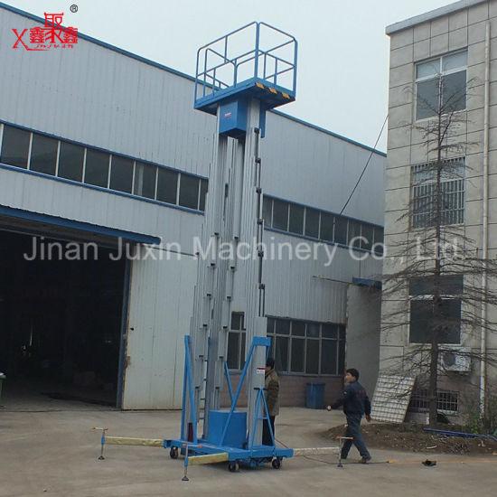 China 200kg Double or Single Mast Customized Lifting Height Aluminum ...