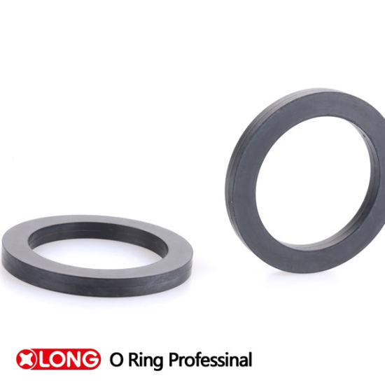 China Silicone (VMQ/FVMQ) Rubber Square Rings Washer Rings - China ...