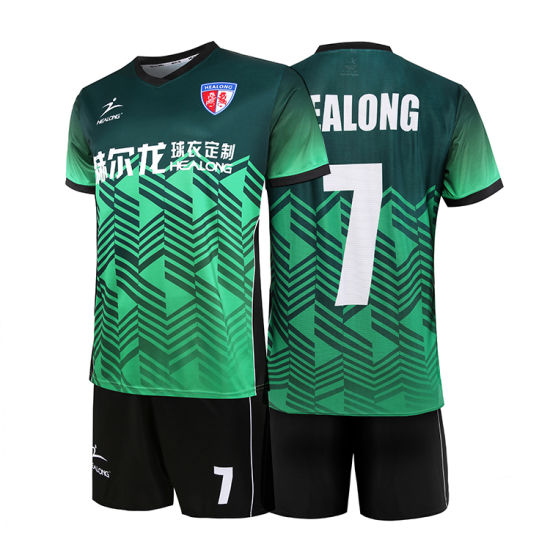 d31c10ac5 Healong 2018 High Quality Soccer Jersey Custom Football Wholesale Youth  School Soccer Uniforms pictures   photos