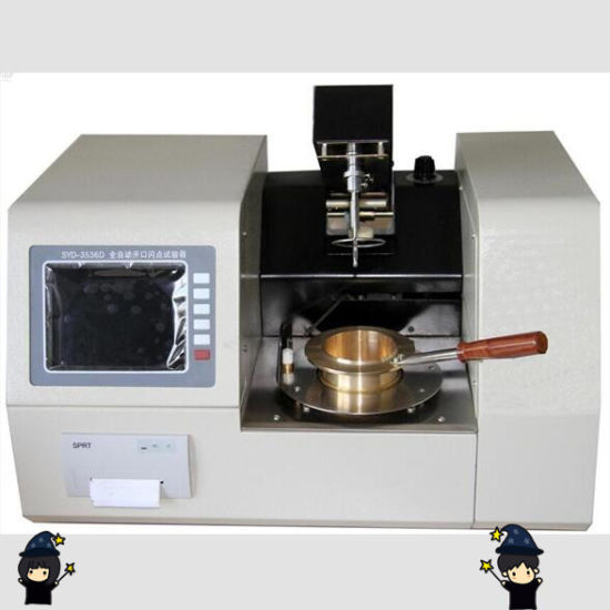 English Display Fully-Automatic Cleveland Open Cup Flash Point Tester