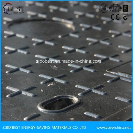 Composite SMC Lockable Manhole Cover with En124 Standard pictures & photos