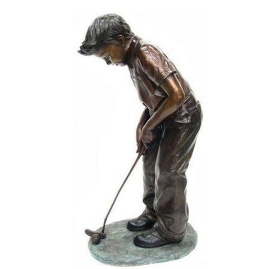 China Outdoor Garden Decor Bronze, Golf Outdoor Decor