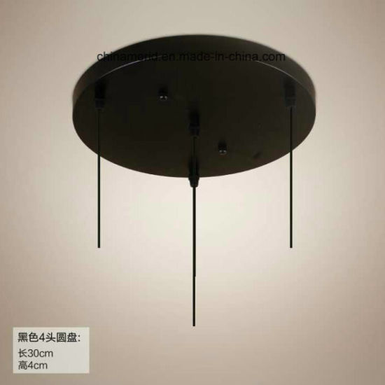Ceiling Light Metal Base Part for Dining Room in Carbon Steel Material pictures & photos