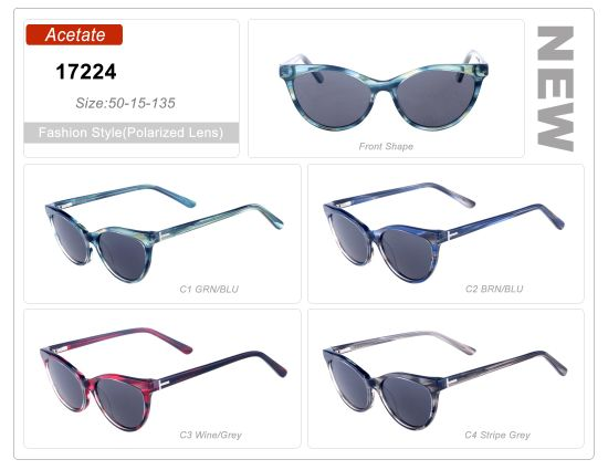 85b2c58d317 Hot Selling Wholesale Ready Stock Fashion Acetate Frame Sunglasses pictures    photos
