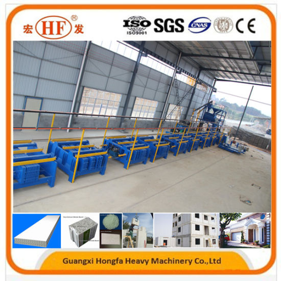 Lightweight EPS Concrete Wall Panel Machine/External Walls Sandwich Panels pictures & photos