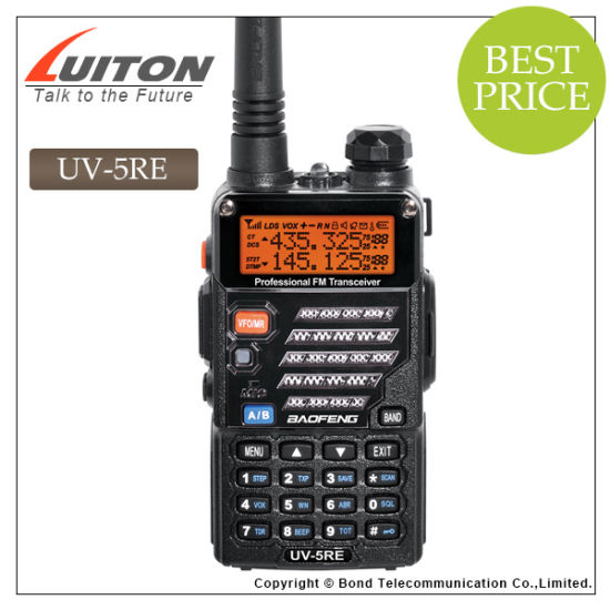 Cheap VHF UHF Radio Two-Way Radio, Baofeng UV-5re Ham Radio pictures & photos