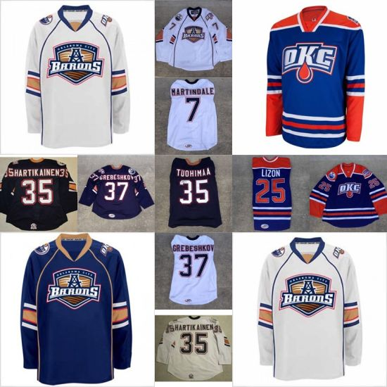 lowest price 1a9d3 fcb93 China Ahl Oklahoma City Barons Ryan Martindale Erick Lizon ...