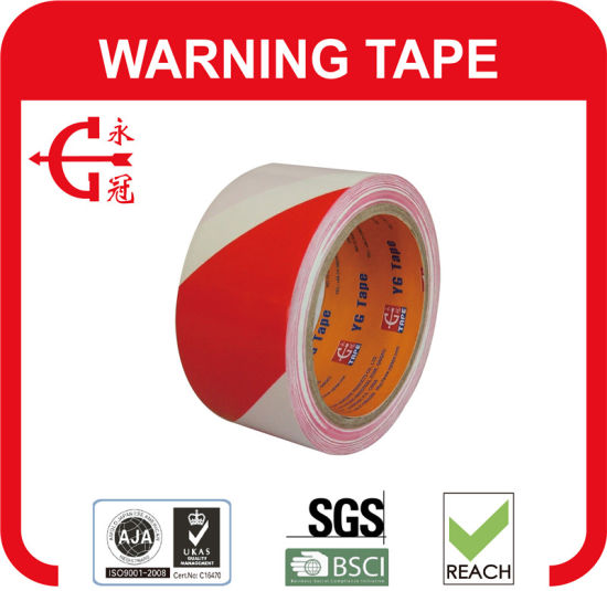 OEM Good Quality Rubber PVC Warning Tape pictures & photos