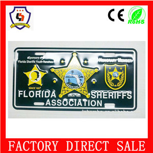 2 Holes License Plate Frame pictures & photos