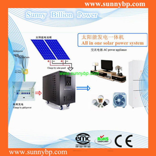Solar Power System for Home Application pictures & photos