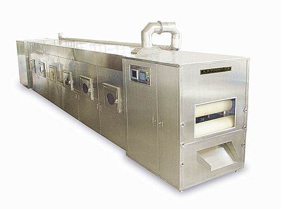 Tunnel Microwave Drying and Sterilizing Machine pictures & photos