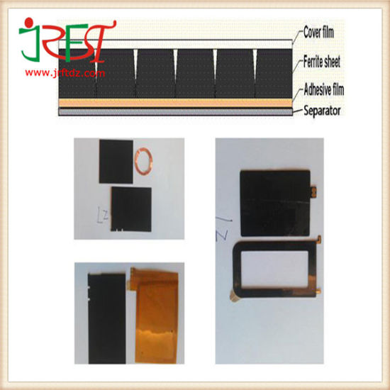 China Antenna Anti-Interference Materials Ferrite Sheet for Frid Tag