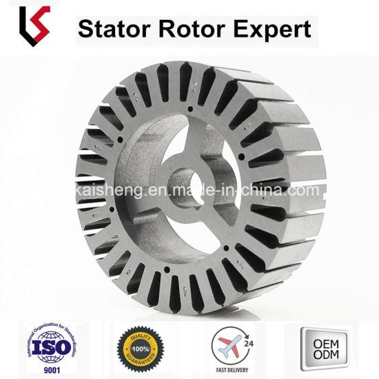 China Interlocked Laminated DC Motor Stator and Rotor Od 105 Slots