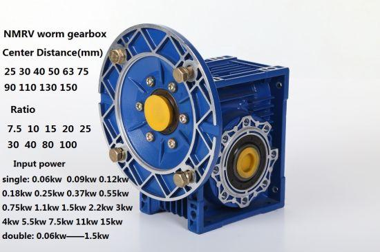 Motovario Types of Nmrv Worm Reducer Gear Box