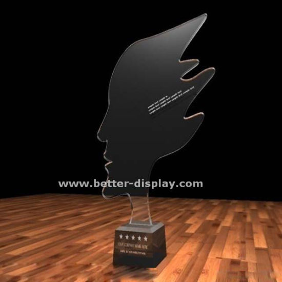 Custom Acrylic Trophy Design