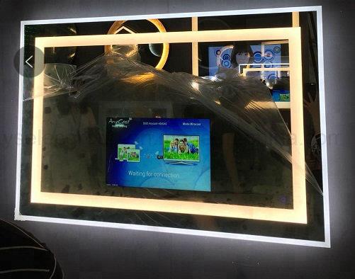 Yashi 7 Inch Magic LED Wall Mounted Smart TV Mirror Android