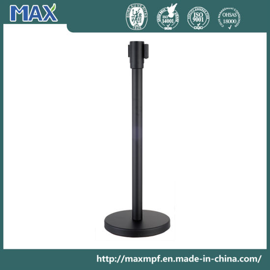5m-High Quality Retractable Crowd Control Post