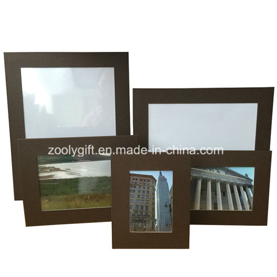 China 6x8 Textured Pattern Paper Promotional Photo Frames China