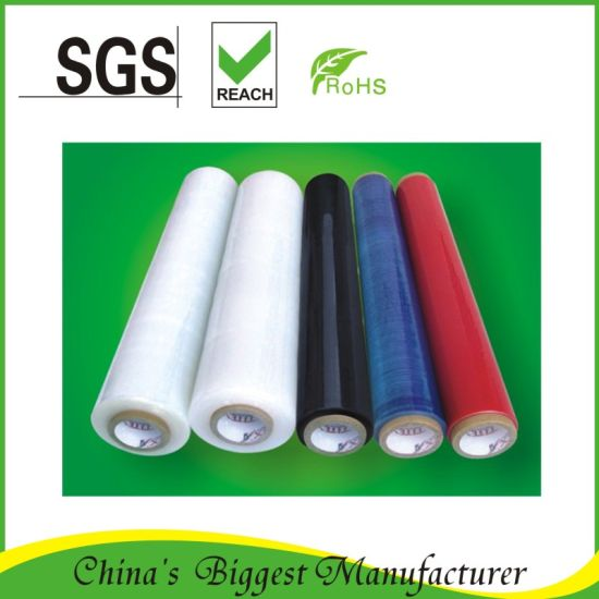 5 Layers Cast PE Hand Stretch Film pictures & photos