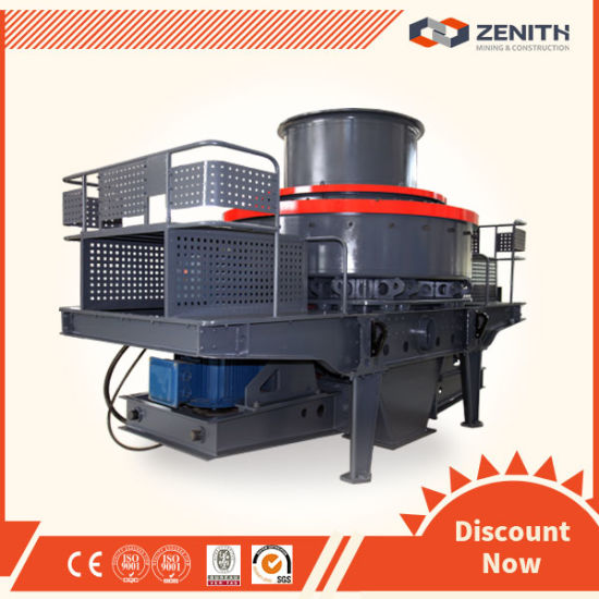10-100tph High Performance Natural Sand Crusher, Vertical Shaft Impact Crusher pictures & photos
