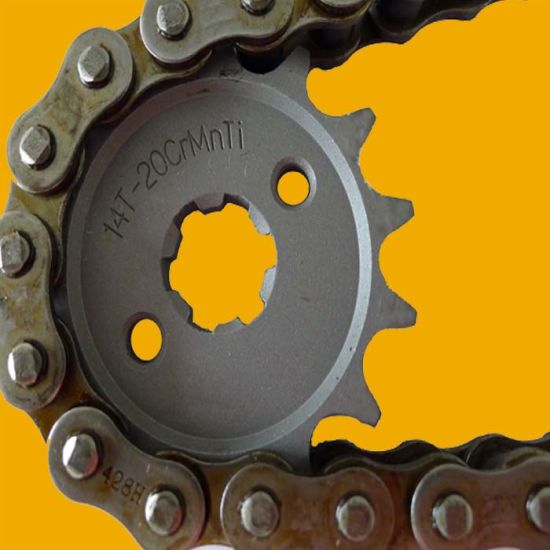 Motorcycle Spare Parts, Thermic Treatment Motorcycle Sprocket pictures & photos