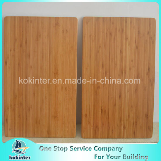 Bamboo Cutting Board Vertical Single Layer Bamboo Cover for Box