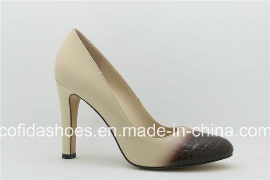 d7d73d283907b China Comfort Multi Designs Pointed Heel Women Shoe - China Women ...