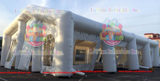 Commercial Quality White Constantly Inflatable Marquee Tent with LED