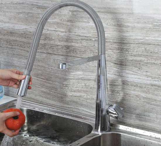 China Flexible Water Outlet Sink Stainless Steel Single Hole ...