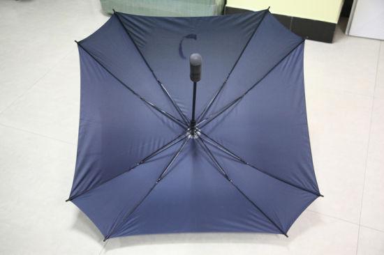 Windproof Double Layer Square Umbrella