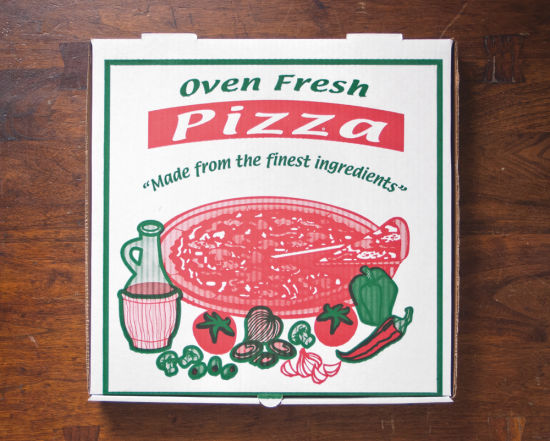 Custom Designed Colorful Printing Corrugated Paper Cardbaord Pizza Boxes pictures & photos