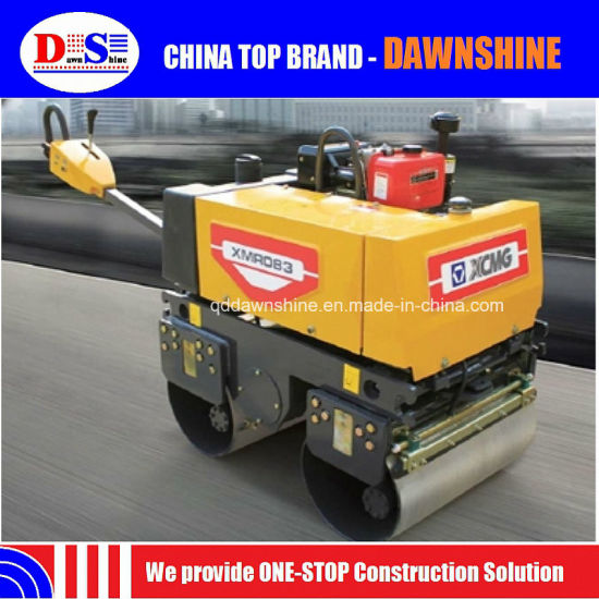 Roller Compactor Capacity 0.8tons Xmr083 Xcm G Mini Road Roller pictures & photos