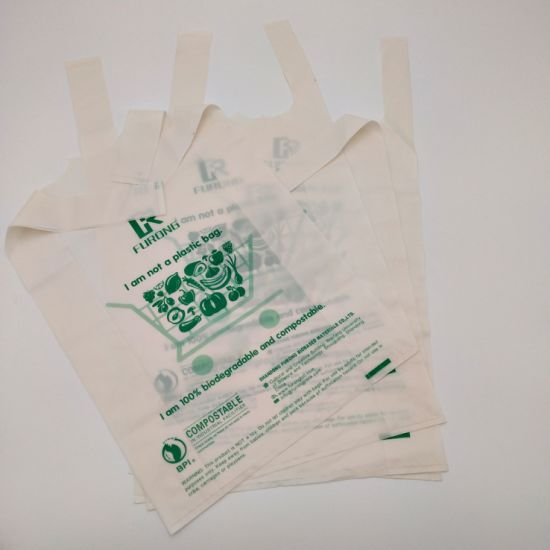 024fb802219 China Biodegradable Shopping Bags for Packaging Vegetables - China ...