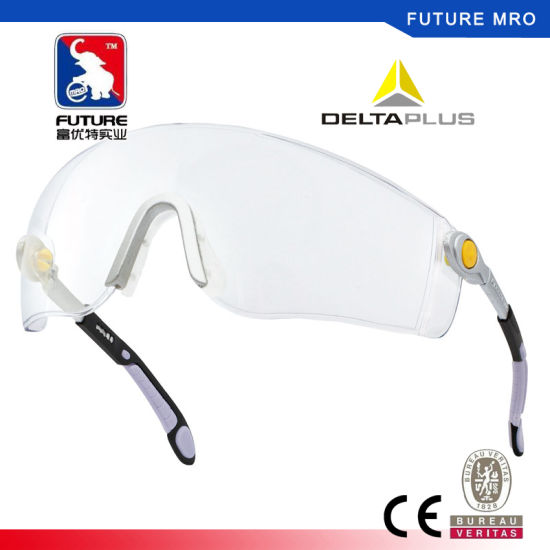 44241df883 China Deltaplus Anti-Fog Safety Glasses with Soft Nose Pad and Side ...
