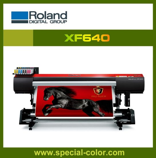 1.6 M Roland Xf640 Eco Solvent Printing Machine pictures & photos