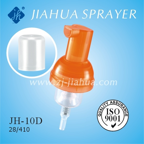 Fine Plastic Foam Pump with Clear Cover or Lock Switch (JH-10D)