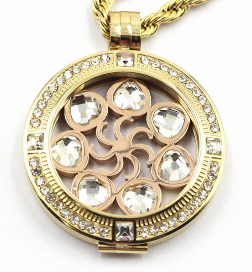 High Quality Custom Made 316L Stainless Steel Locket Pendant for Gift Jewellery pictures & photos