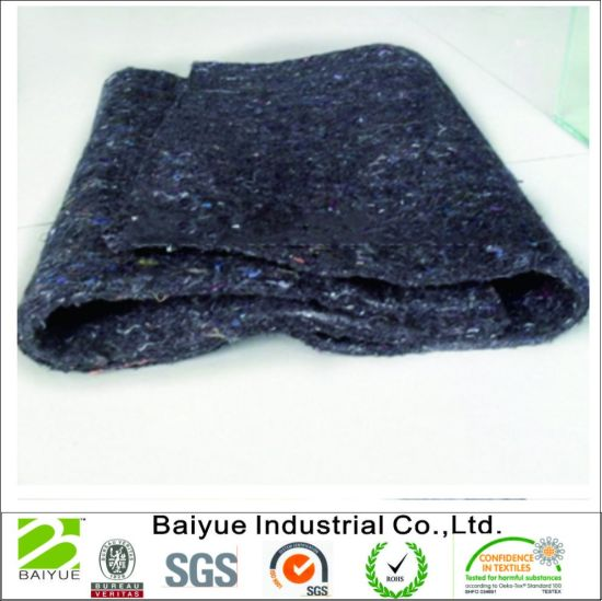 Recycle Gray Color Hard Felt For Mattress Pad And Sofa