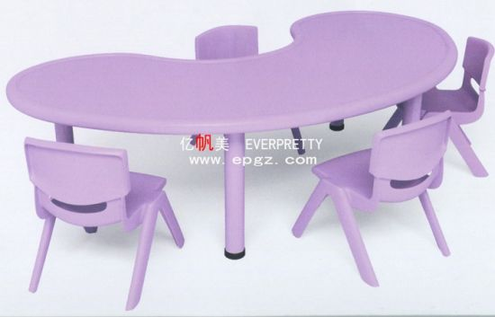 New Design And Purple Kindergarten Children Student Desk Chair