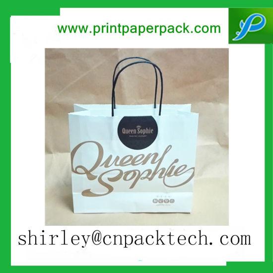 High End Custom Fashion Shopping Apparel Shoes Gifts Packing Paper Bag