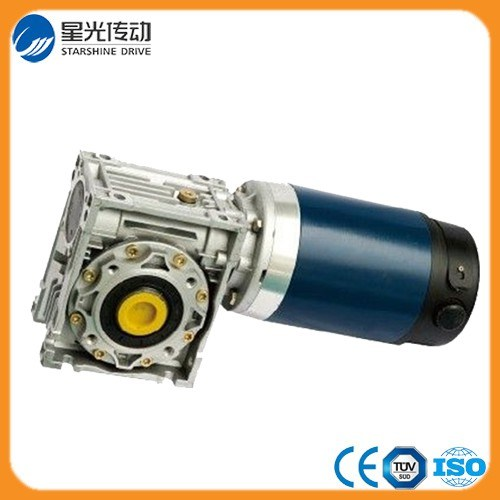 Motor DC 600W Worm Gearbox Reducer