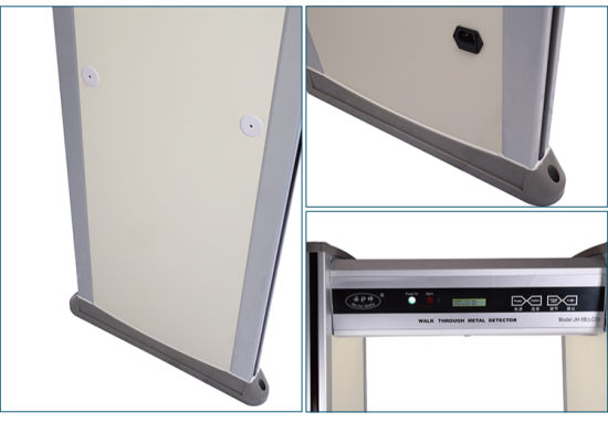 High Sensitivity Security LCD Walk Through Metal Detector pictures & photos