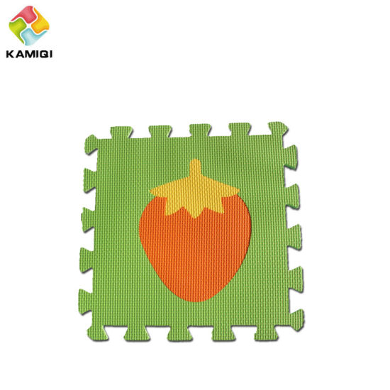 Waterproof Kamiqi EVA Non-Toxic Foam Floor Jigsaw Puzzle Fruits Mats pictures & photos